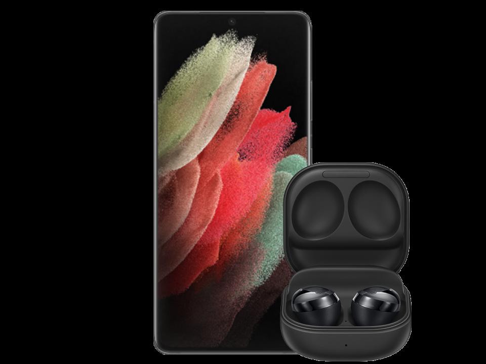 Samsung Galaxy S21 Ultra Black wBuds